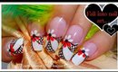 Floral Nail Art for Long Nails  ♥