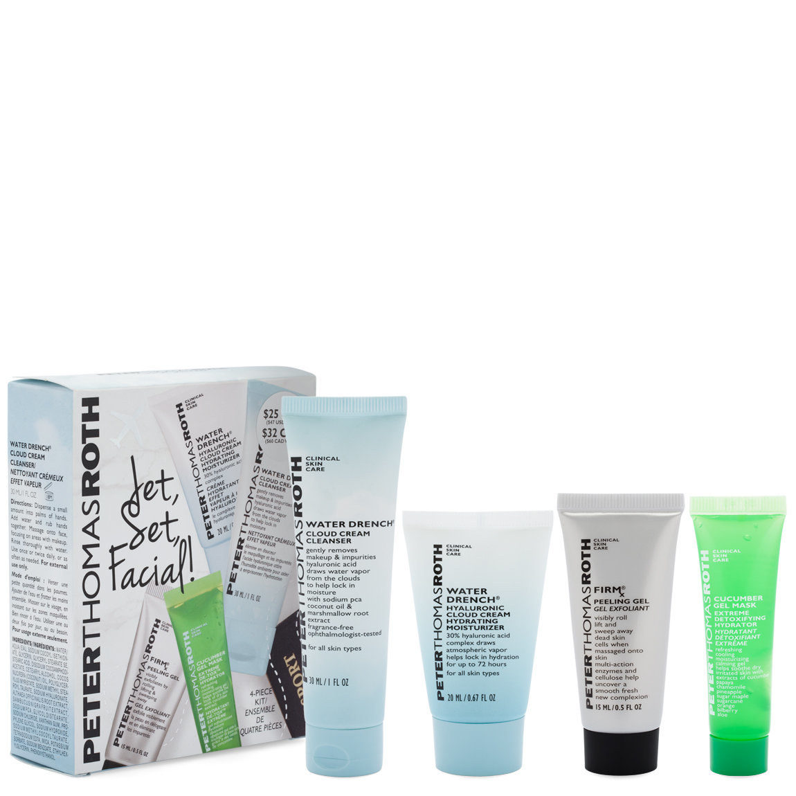 Peter Thomas Roth Jet, Set, Facial alternative view 1 - product swatch.