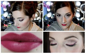 You can find how to re create this look here on my channel! http://youtu.be/DW2YFcUM5iI