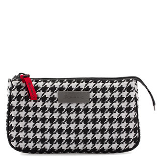 The Houndstooth Mini Zipped Pouch