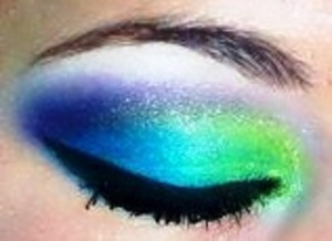 peacock inspired :)