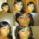 Roxanne RocknRollX. Inspired!!!  Minus Lashes!! I love her style!!