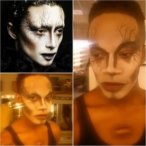 A cute look for Halloween or for a show depending on the theme. The possibilities with this look are endless.