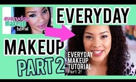 Everyday & Back to School Makeup