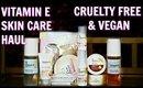 *VITAMIN-E* Skincare - First Impression | Vegan & Cruelty Free | ShrutiArjunAnand
