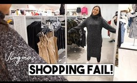 SHOPPING FAIL + ANDY MAKES PASTA AGLIO E OLIO! | Vlogmas Day 8 + 9 - LifeWithTrina