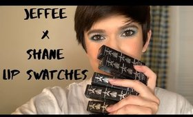 Jeffree Star x Shane Dawson Lip Swatches | Lexi The Makeup Babe