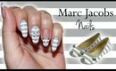 Marc Jacobs Nails| Grey Striped Mouse ♡