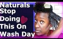 3 Wash Day Mistakes We Make with Deep Conditioning Natural Hair: 4c, 4b, 4a hair Friendly