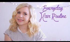 Chatty Everyday Hair Routine GRWM