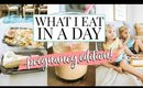 WHAT I EAT IN A DAY (PREGNANCY EDITION) + MY TODDLERS! | Kendra Atkins