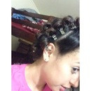 2Rime Trying These Pincurls!