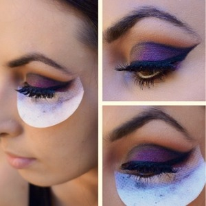 Shadow shields create the perfect shape for winged liner!