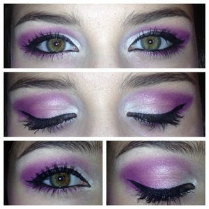 """my attempt at a somewhat """"Barbie"""" look"""