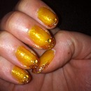 Frensh paillette jaune