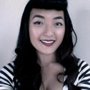 Pinup Girl With Roller Bangs
