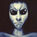 Alien - blue filter