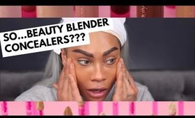 LETS TRY THIS NEW BEAUTY BLENDER CONCEALER | SONJDRADELUXE