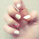 Summer/Floral Nails & Stripes!