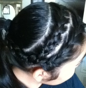 My workout hair!
