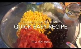 easy recipe cooking with me..