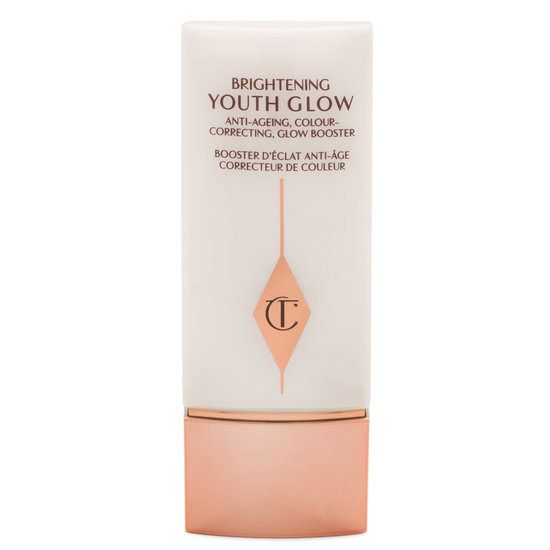 Charlotte Tilbury Brightening Youth Glow product smear.