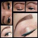 Gradient Blue eyeliner