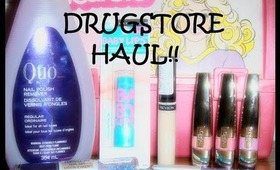 ♥ Drugstore Makeup Haul! (ft. L'Oreal Colour Caresse Wet Shine Stains) ♥