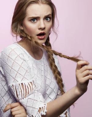 Pretty and clean pink summer makeup look with some wispy braids.   Model: Megan M Photog: Sidney Kreamer Hair & makeup: Me