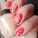 Flowers with Dots