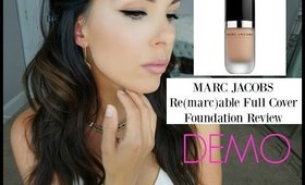Marc Jacobs ReMARCable Full Cover Foundation Review & Demo