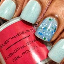 Everybeauty Boutique Aqualuvu4ever and Whooz Polish Dreaming of Blue...