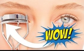 BEAUTY HACK! CHANGE THE DIRECTION OF YOUR LASHES!