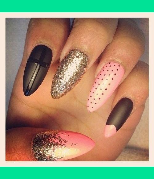 Pointed Nails Danny N Melany Rs Photo Beautylish