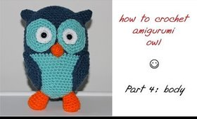 How To Crochet Amigurumi Toy - Part 4