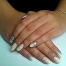 Natural & Silver Glitter
