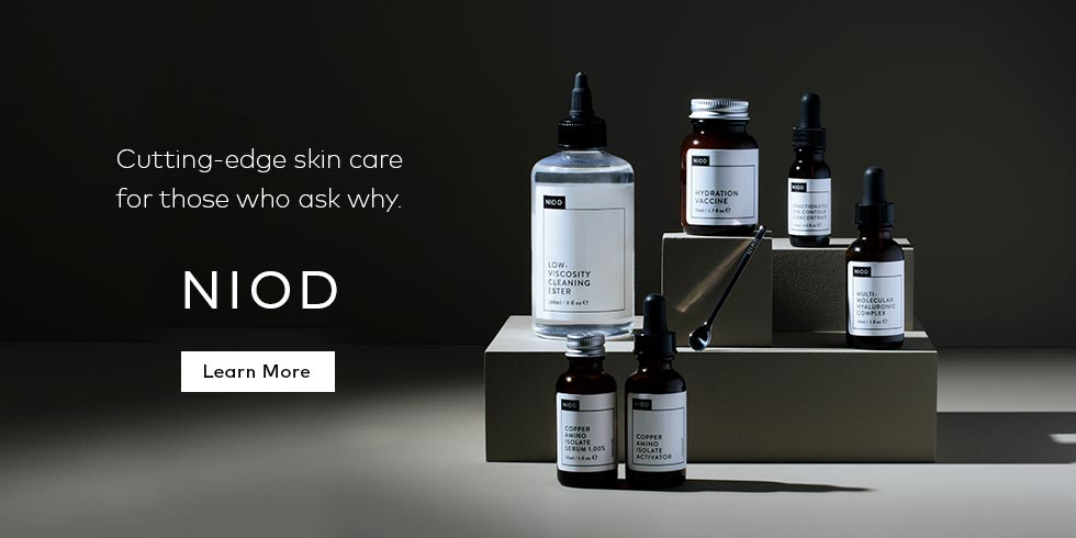 Learn more about NIOD's cutting-edge skin care system!