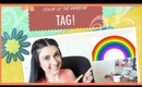 Color Of The Rainbow Tag!