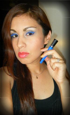 Sephora's liquid eye liner inspired by Daniela M :)