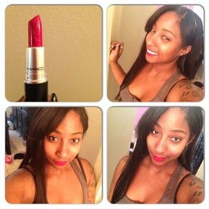 RiRi Woo Lipstick makes me :)