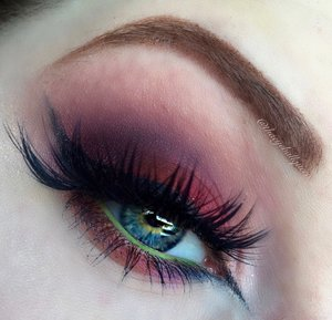 Next tutorial from the Fruit Series, this one was SUPER fun :)! Be sure to visit my blog for the lowdown, that includes clickable links to products with an accompanying description.  http://theyeballqueen.blogspot.com/2016/08/fig-inspired-deep-purple-vivid-red.html