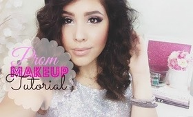 Prom Makeup Tutorial 2014 | Smokey Cat Eye