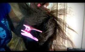 """Re-upload of How """"I"""" do my braid pattern for a sew-in weave (Requested)"""