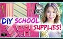 7 DIY SCHOOL SUPPLIES! Back to School 2014 ♥