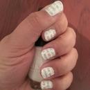 Newspaper nails DIY!!