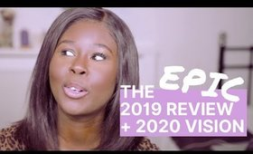 The EPIC 2019 REVIEW You've Been Waiting For + 2020 Vision Board | WandesWorld