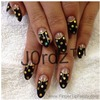 Black and Gold deep french