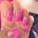 pink & diamonds