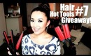 Curl, Wave & Straighten - HAIR TOOLS GIVEAWAY! Flat Iron, Deep Waver & Clipless Curling Iron