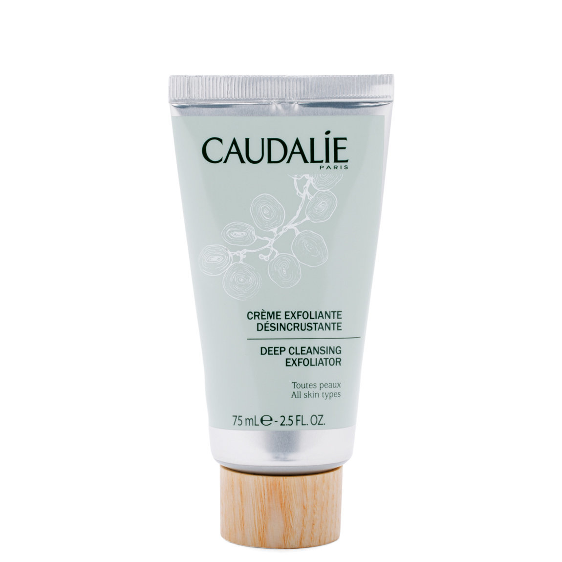 Caudalie Deep Cleansing Exfoliator product swatch.